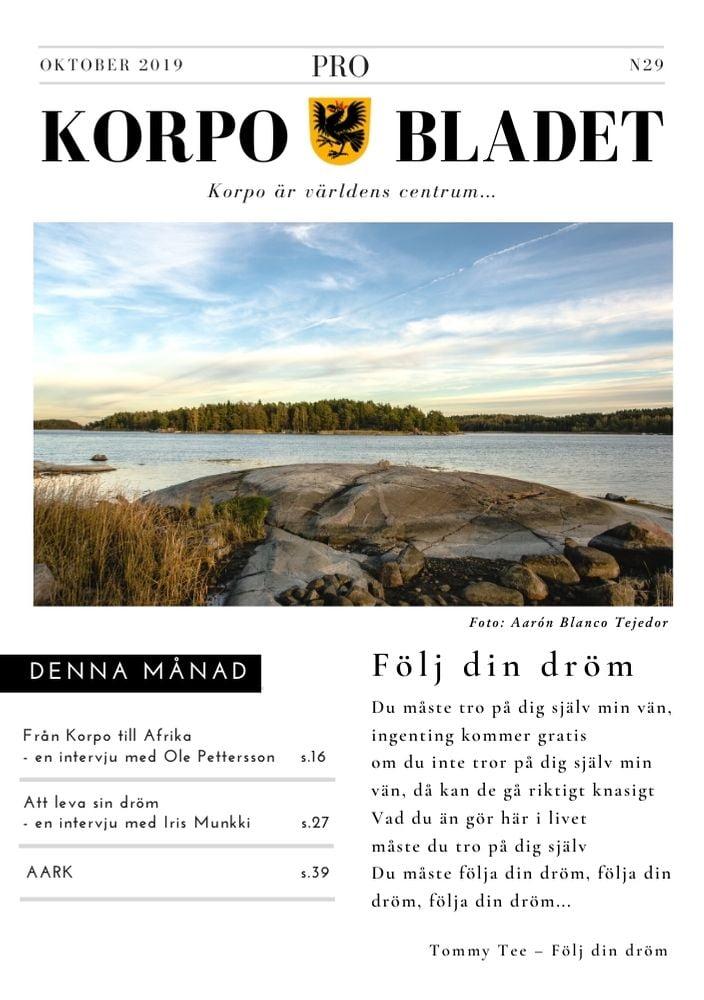 KBN29 - October 2019 - Kaisu Lundelin Ilona Tanskanen