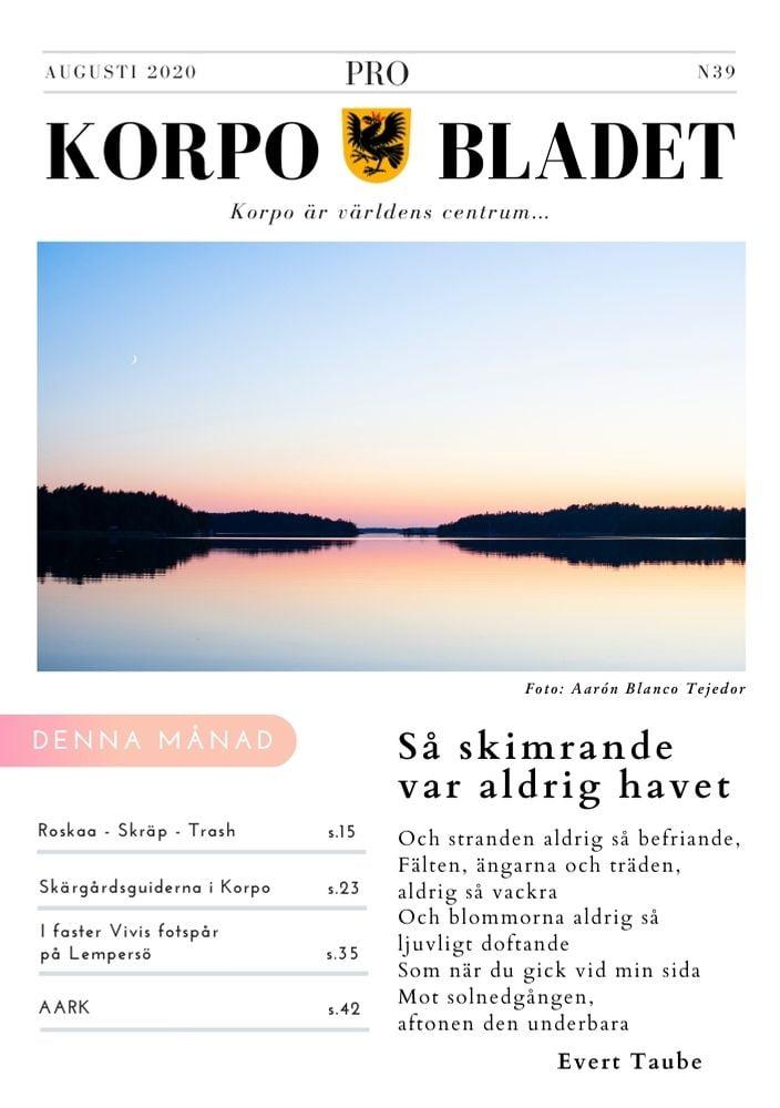 KBN39 - August 2020 - Marja Salo Marjut Brunila Susanna Tuuliainen