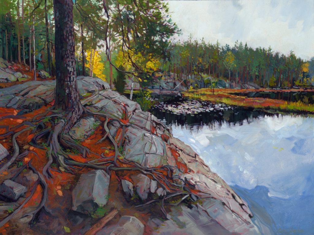 Chris-Sheridan-paintigs-from-my-residency-at-AARK