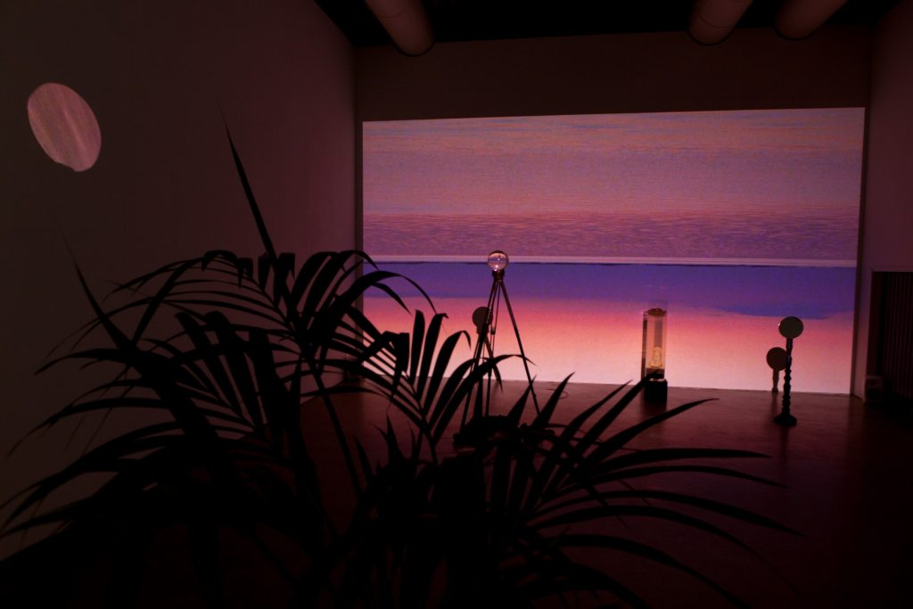 Expeditions to places that don't exist, installation view, Gallery Huuto
