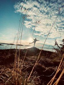 On a small desert island next to Korppoo, 2020