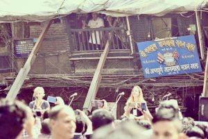 Performing in Kathmandu, Nepal